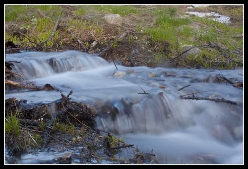 Small runoff streams