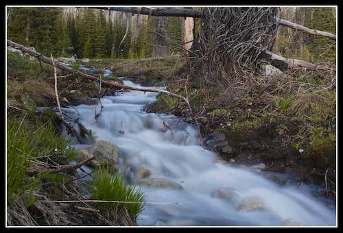 Small runoff streams