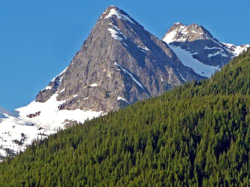 Snowfield Peak in July