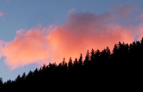 Sunset over the Ridge