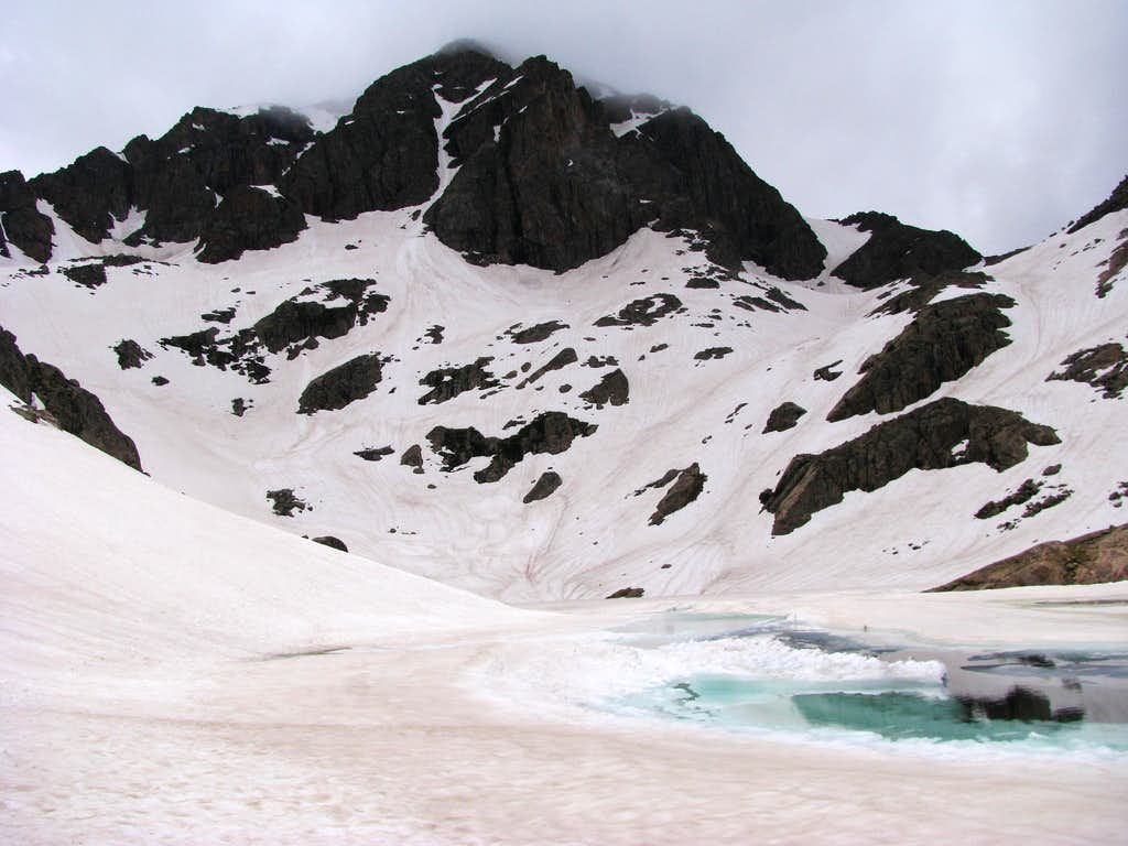 Frozen Duck Lake - Mount Powell