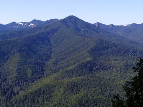 Salmon Butte from Devils Peak