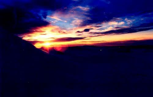 Dawn in Mount Kosciusko...