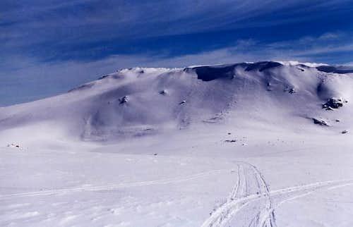 Cornice on Mt Kosciusko's...