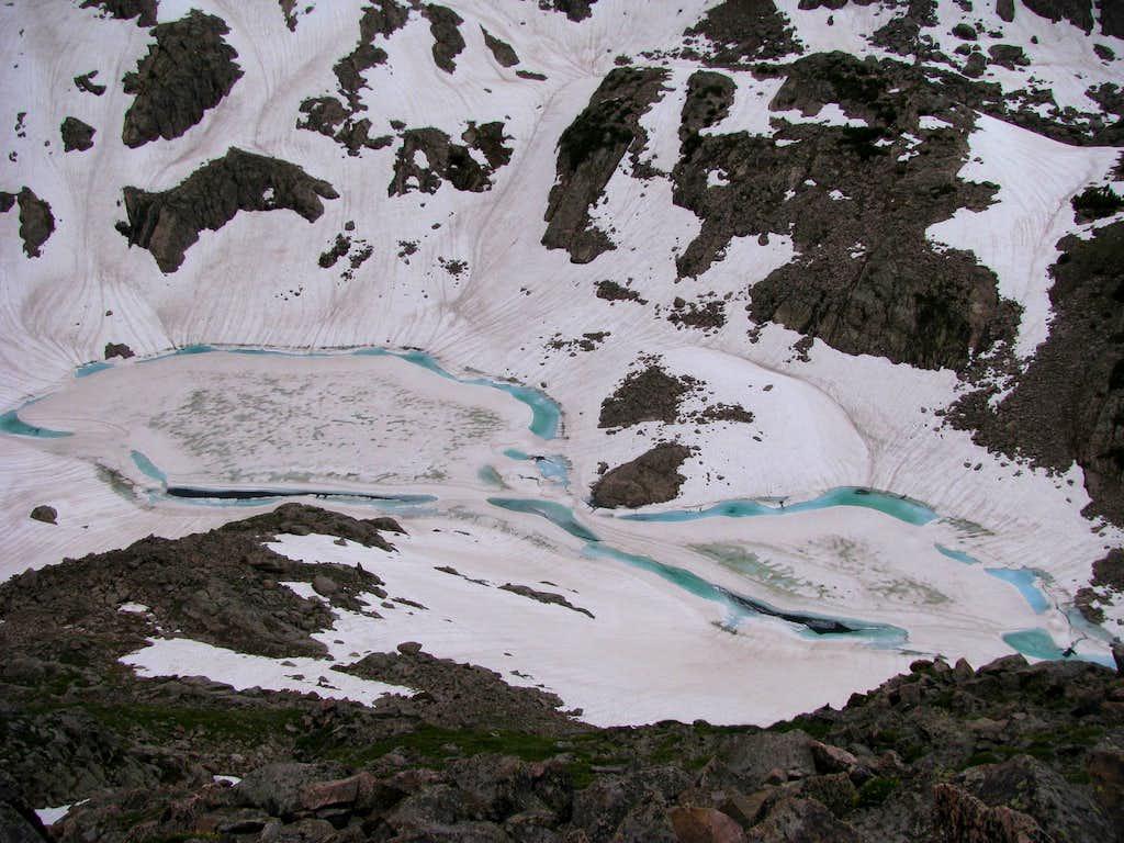 Frozen Duck Lake