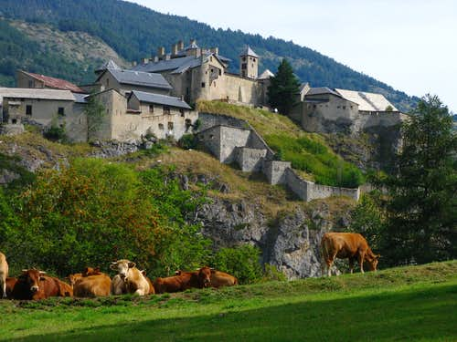 Chateau en Queyras