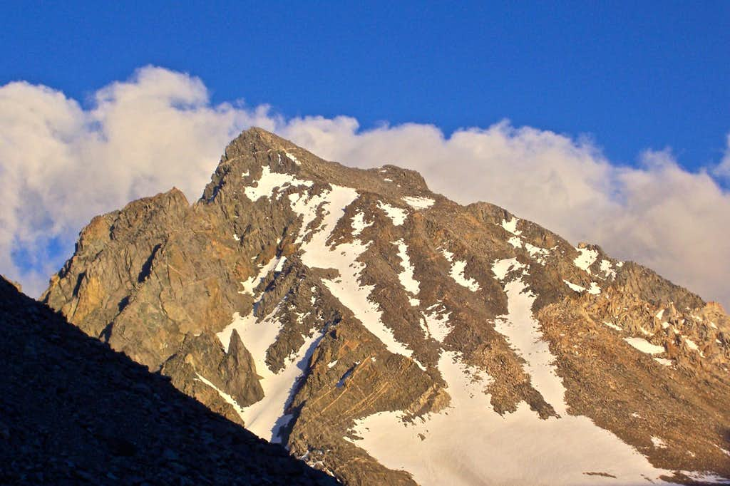Mount Agassiz seen from Point 11,400 ft