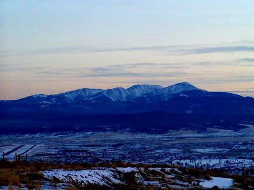 The Highlands from Butte,...