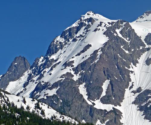 Mount Shuksan s North Ridge