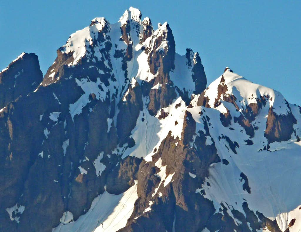 Lincoln Peak's South Face