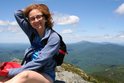 Summit Pose at Camel\'s Hump