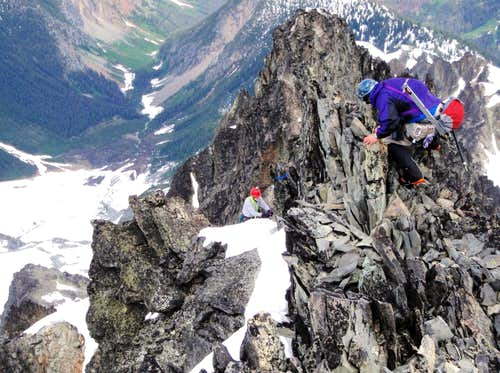 Scrambling The Northeast Ridge