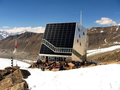Monterosa hut.
