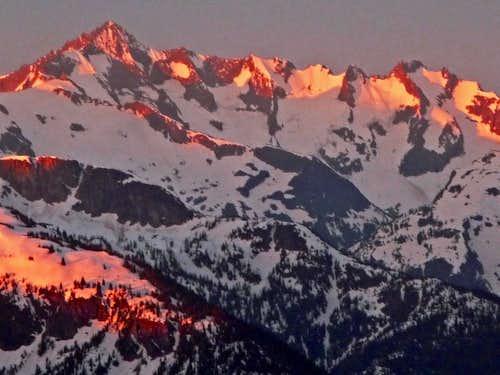 Forbidden Peak during Sunrise