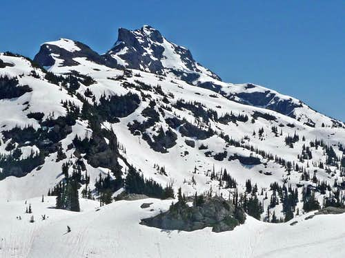 Crater Mountain\'s West Side