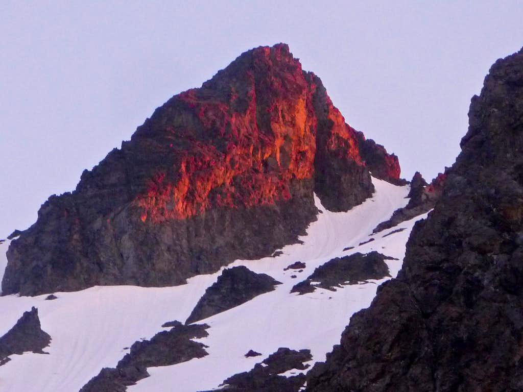 Alpenglow on Jack Mountain