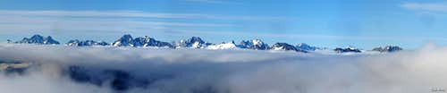 North Cascades Above the Clouds