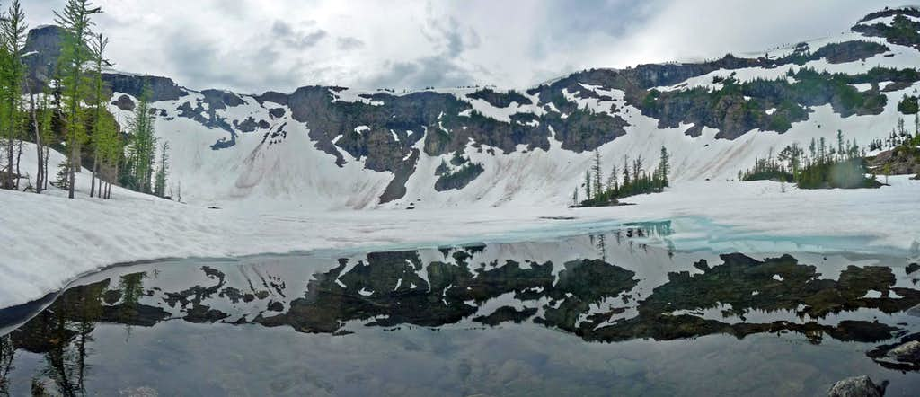 Crater Mountain Reflection