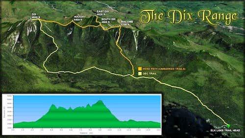 Team Wakely Traverses The Dix Range