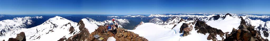 Mount Olympus 360°  View