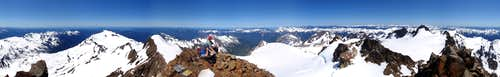 Mount Olympus 360°  View