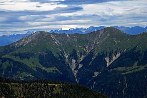 Latschur and behind it Hochalmspitze