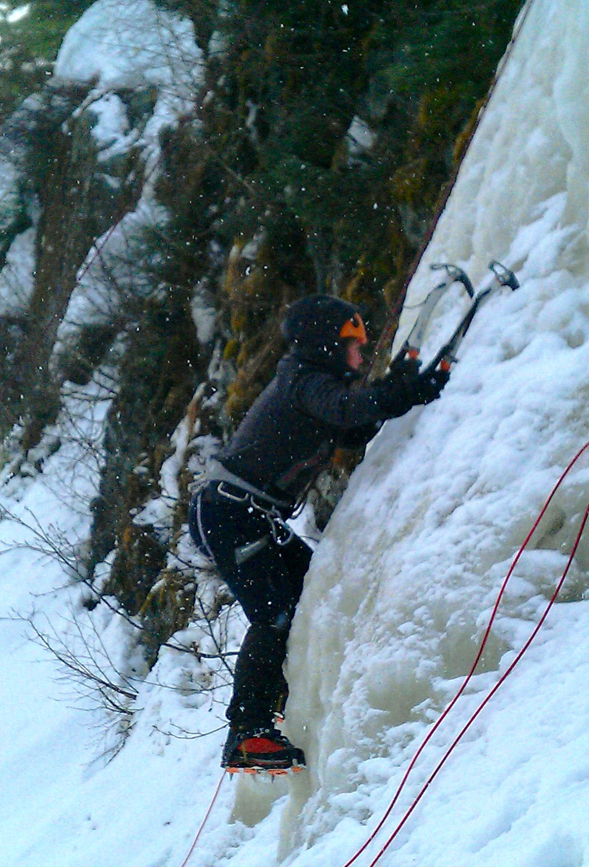 1st Ice Climbing Lesson