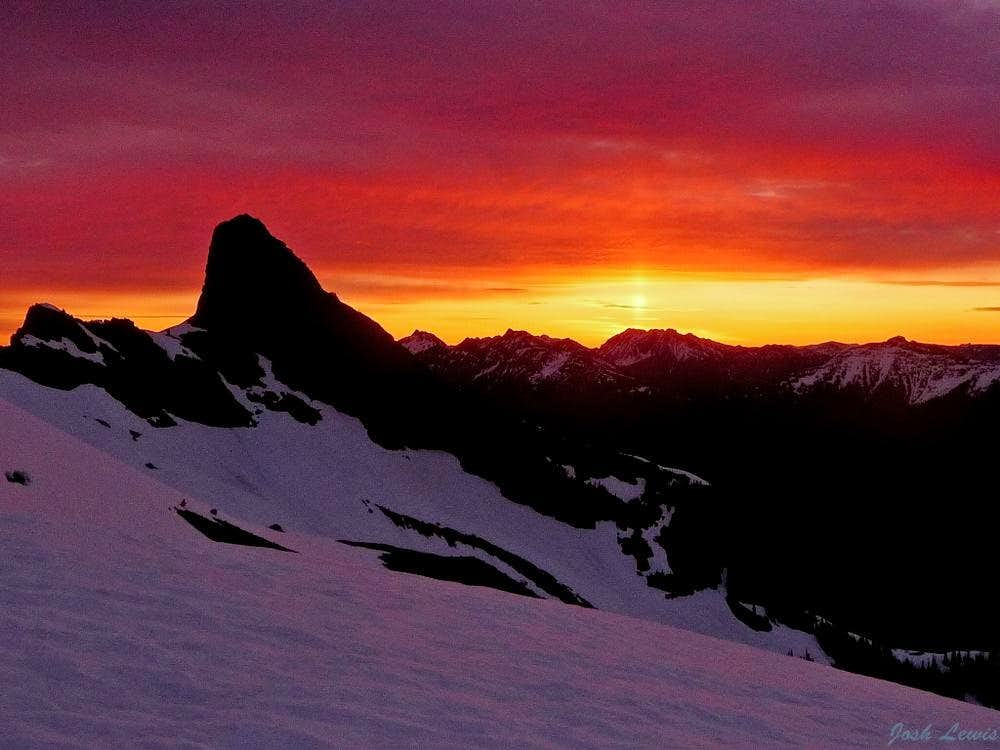 A Beautiful Sunrise on Jack Mountain