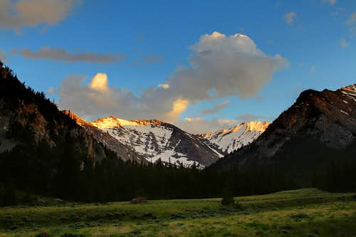 Alpenglow on Mount Church