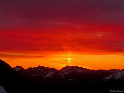 A Beautiful Morning on Jack Mountain