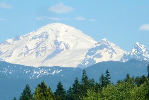 Mount Baker from the Highway