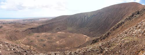 Volcan Bayuyo east crater