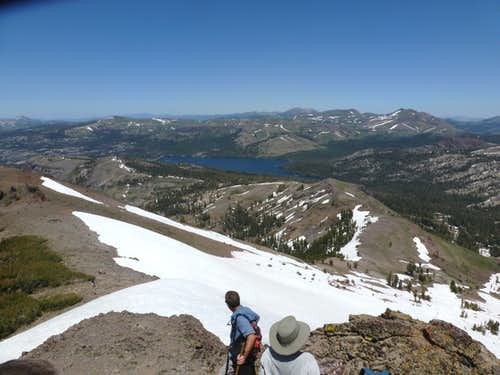 View northeast towards Caples Lake