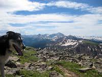 Dog and Capitol Peak