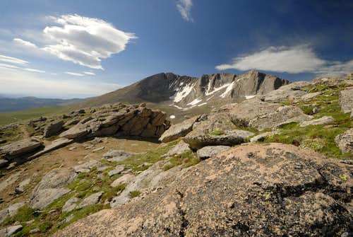 Mt. Evans, North Face