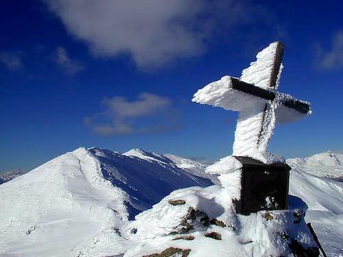 On the summit of Peitlernock