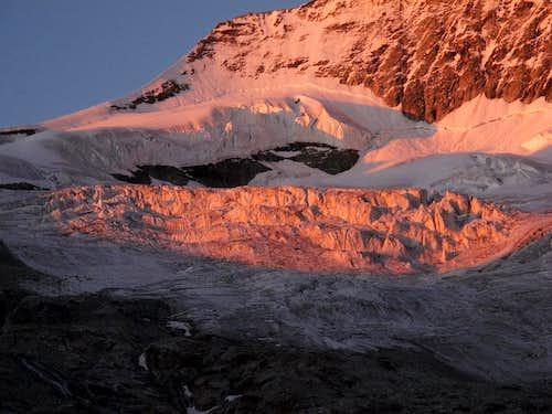 Séracs on the Glacier du Mountet below Zinalrothorn