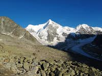 A fantastic spot in the Pennine Alps: the Grand Mountet!