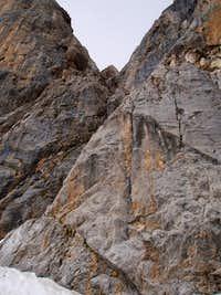 Sentiero Ettore Castiglioni upper part