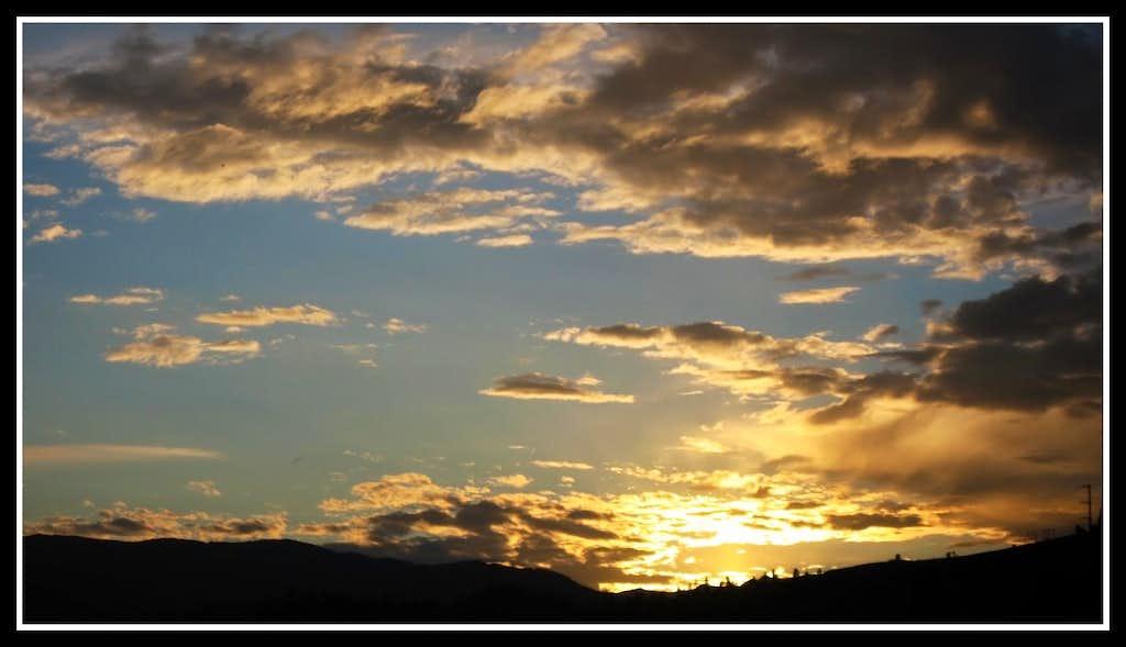 Leavenworth sunset