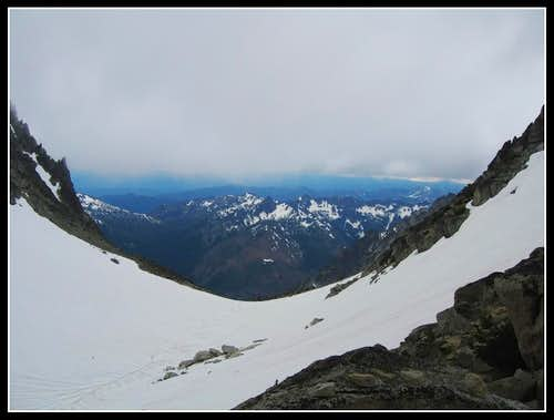 View from Colchuck col