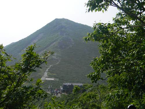 Top portion of Daecheongbong Peak