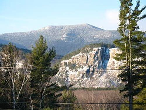 North Moat Mt from North Conway