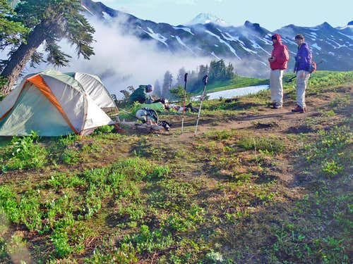 Camping near White Pass