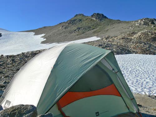 Camping at Glacier Gap
