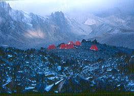 Advance Base Camp of Mt. Stok...