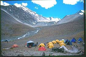 Base Camp of mt. Stok Kangri