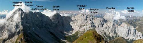 The Biegengebirge part of the...