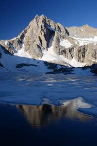 Icy Reflection of Picture Peak