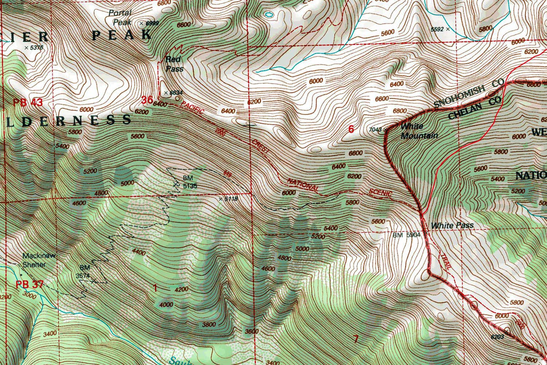 Topographic Map Mountains.White Mountain Topographic Map Photos Diagrams Topos Summitpost